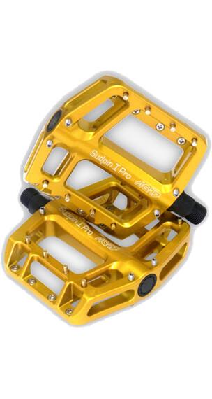 NC-17 Sudpin I Pro Pedal gold